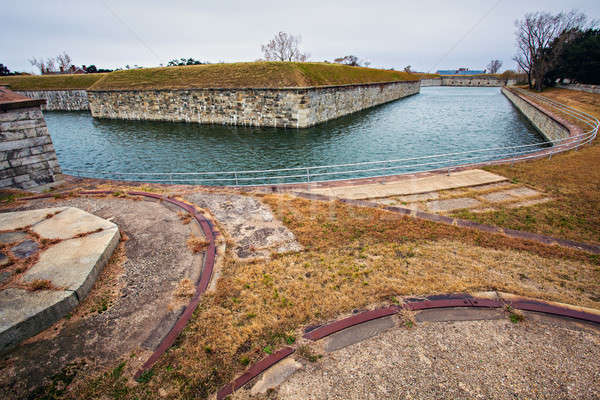 Fort Monroe Stock photo © benkrut