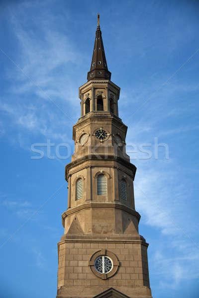 St. Philip's Episcopal Church Stock photo © benkrut