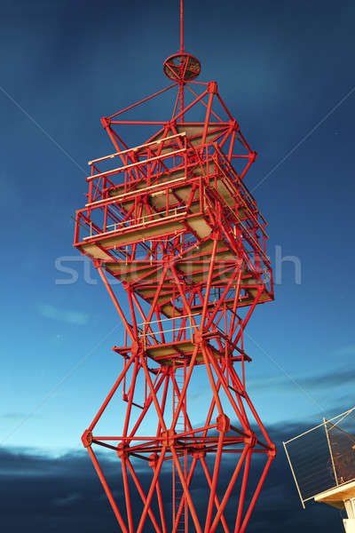 Scheveningen tower Stock photo © benkrut