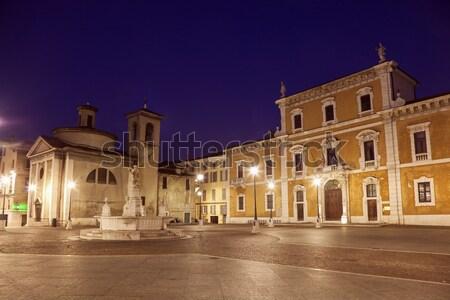 Arhitectura veche călători orizont arhitectură urbanism Italia Imagine de stoc © benkrut