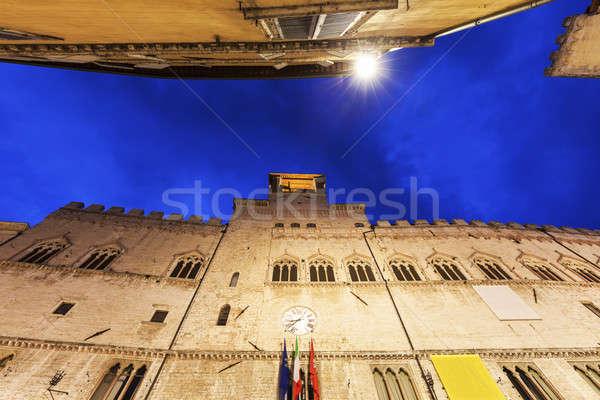 Architecture of Perugia Stock photo © benkrut