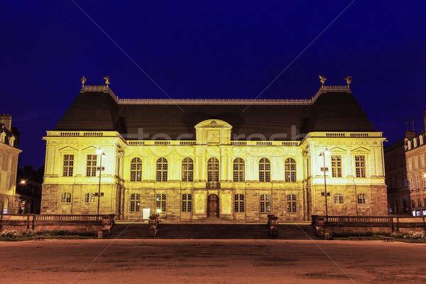 Parlamento cidade azul viajar noite linha do horizonte Foto stock © benkrut
