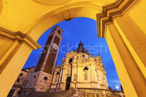 Basilica di Monte Berico in Vicenza Stock photo © benkrut