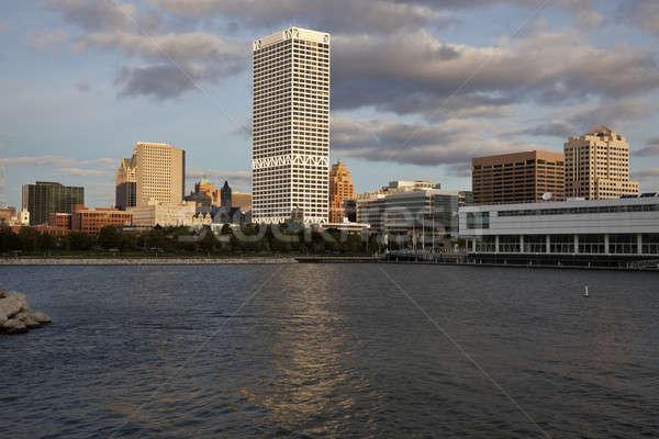 Milwaukee seen from Lakefront Stock photo © benkrut
