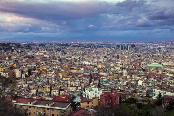 Foto d'archivio: Panorama · costruzione · tramonto · chiesa · viaggio