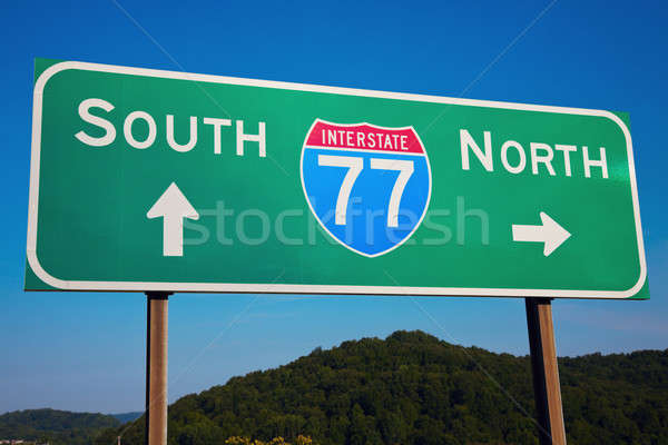 South or North? Stock photo © benkrut