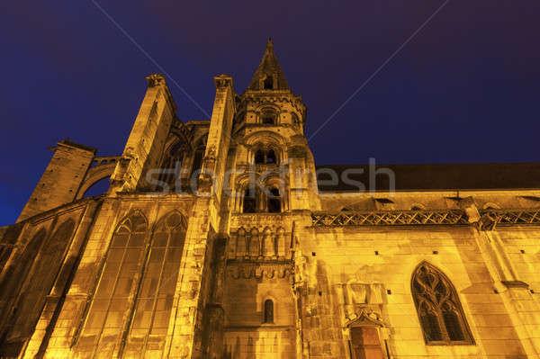 Церкви старый город небе город синий путешествия Сток-фото © benkrut