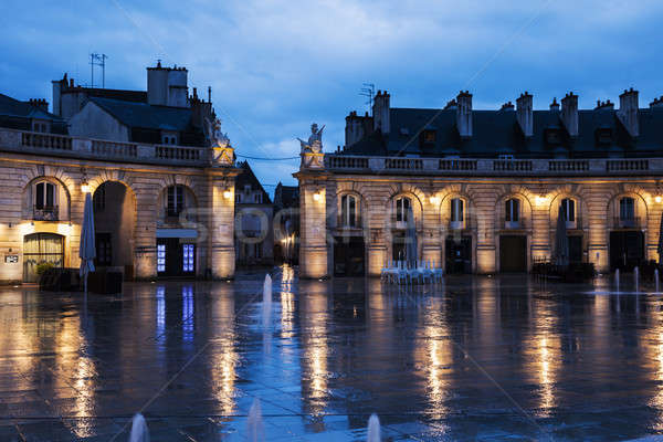 Liberation Square in Dijon Stock photo © benkrut