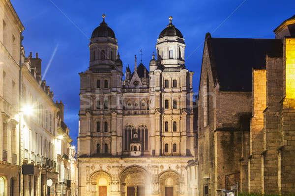 St Michel Church in Dijon Stock photo © benkrut
