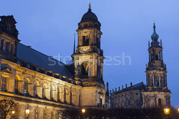Architecture of Dresden Stock photo © benkrut