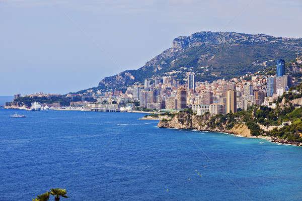 Monaco architecture Stock photo © benkrut