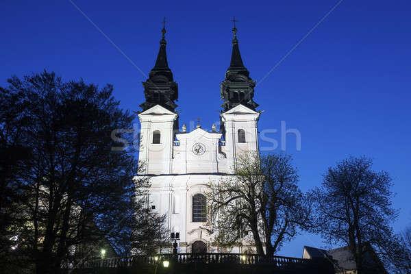 Postlingbergkirche in Linz Stock photo © benkrut