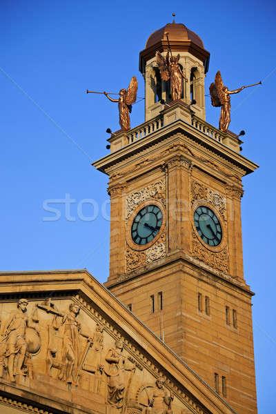 Clock Tower in Canton, Ohio Stock photo © benkrut