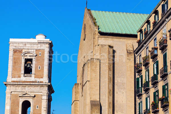 Церкви Неаполь улице синий путешествия Сток-фото © benkrut