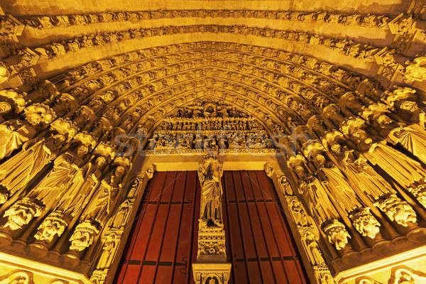 вход собора Lady улице Церкви путешествия Сток-фото © benkrut
