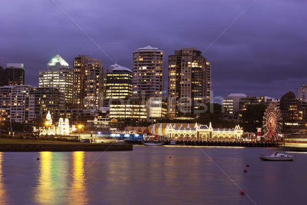 Noorden Sydney architectuur water Stockfoto © benkrut