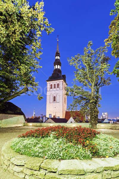St. Nicholas Church in Tallin Stock photo © benkrut