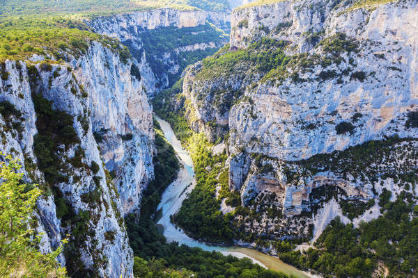 Verdon Gorge Stock photo © benkrut