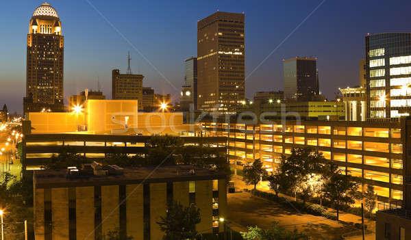 Downtown Louisville, Kentucky Stock photo © benkrut