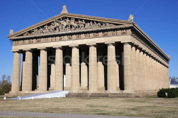 Partenón Tennesse completo tamaño Foto stock © benkrut