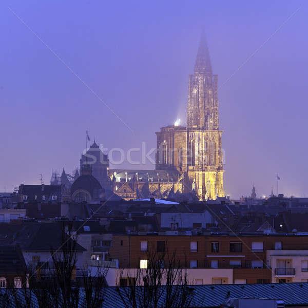 Strasbourg Minster Stock photo © benkrut