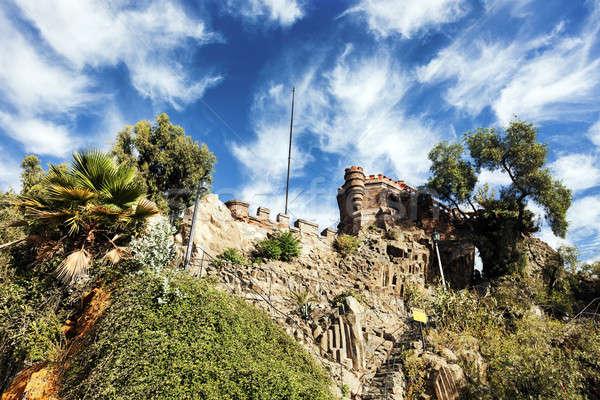 Santa Lucia Hill in Santiago Stock photo © benkrut