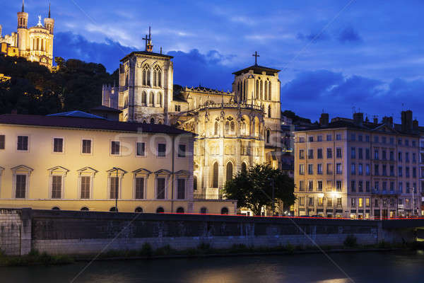 Basilica of Notre-Dame de Fourviere Stock photo © benkrut