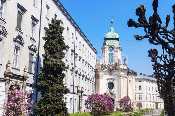Priesterseminarkirche in Linz. Stock photo © benkrut