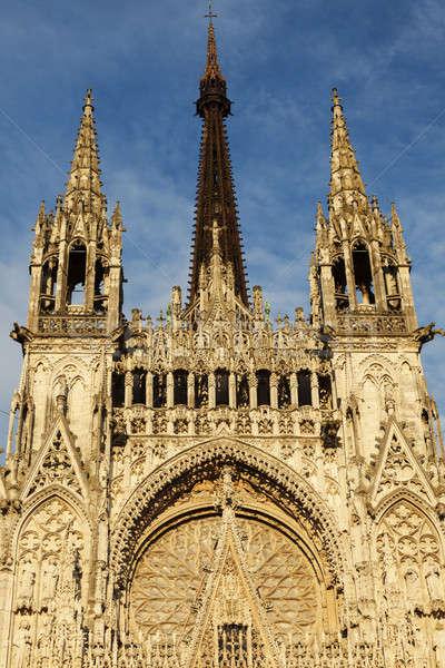 Rouen Cathedral Notre-Dame   Stock photo © benkrut