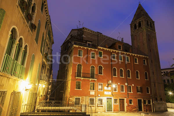 Campo S.Vidal in Venice Stock photo © benkrut