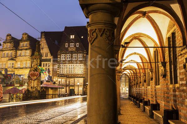 Bremen Market Square Stock photo © benkrut
