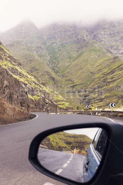 On the road - Gran Canaria Island Stock photo © benkrut
