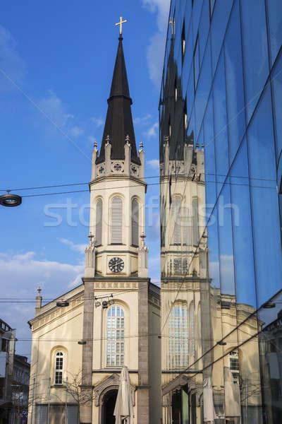 Church in Linz Stock photo © benkrut