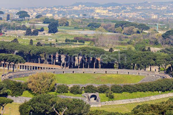 Amphitheatre of Pompei  Stock photo © benkrut