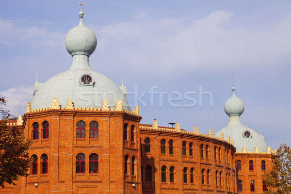 Campo Pequeno bullring in Lisbon Stock photo © benkrut