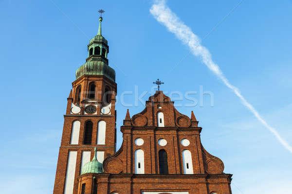 Trinity Church in Bydgoszcz Stock photo © benkrut