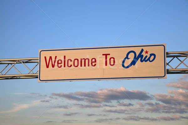 Welcome to Ohio Stock photo © benkrut