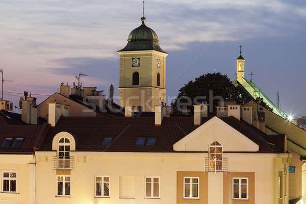 Kilise ana kare Stok fotoğraf © benkrut