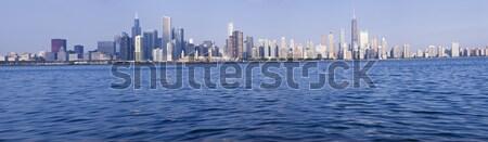 Chicago panorama göl Michigan Illinois ABD Stok fotoğraf © benkrut