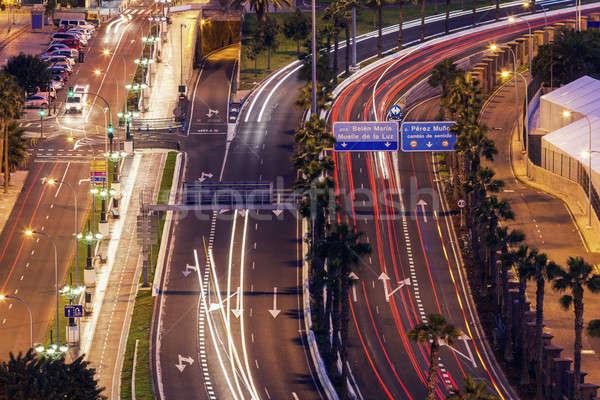 Traffic in the center of Las Palmas Stock photo © benkrut