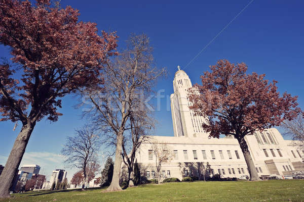 State Capitol Building in Lincoln Stock photo © benkrut