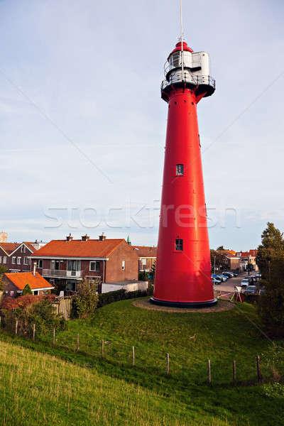 Hoek van Holland Lighthouse.  Stock photo © benkrut