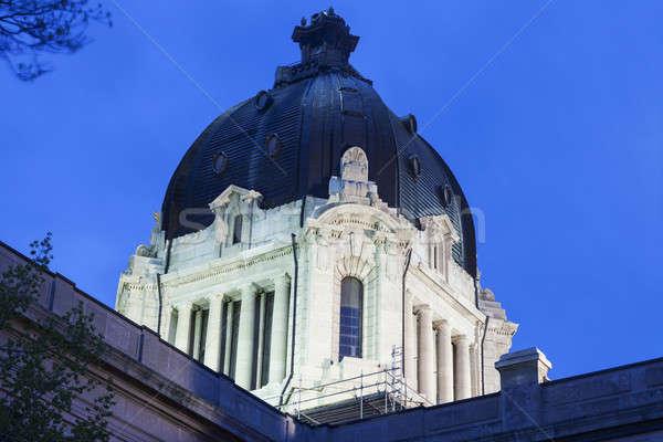 Saskatchewan Legislative Building in Regina Stock photo © benkrut