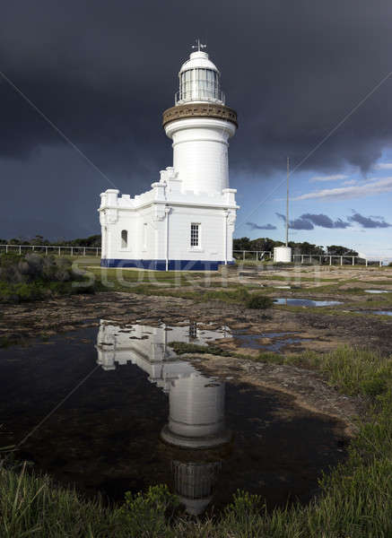 Point Perpendicular Lighthouse Stock photo © benkrut