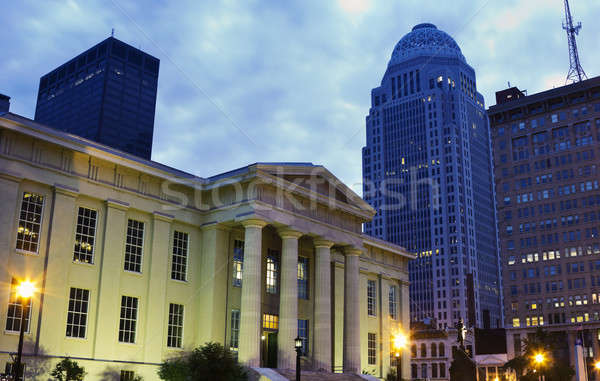 Jefferson County Building in Louisville, Kentucky Stock photo © benkrut