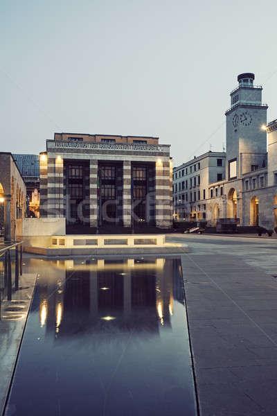 Piazza della Victoria in Brescia  Stock photo © benkrut