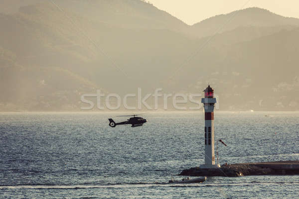 Lighthouse in Cannes Stock photo © benkrut