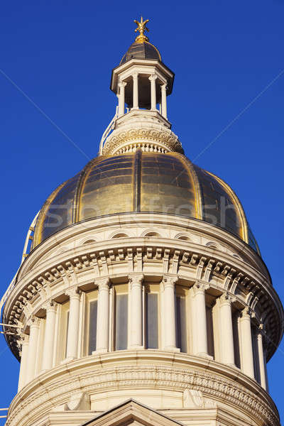 Trenton - dome of State Capitol Building Stock photo © benkrut