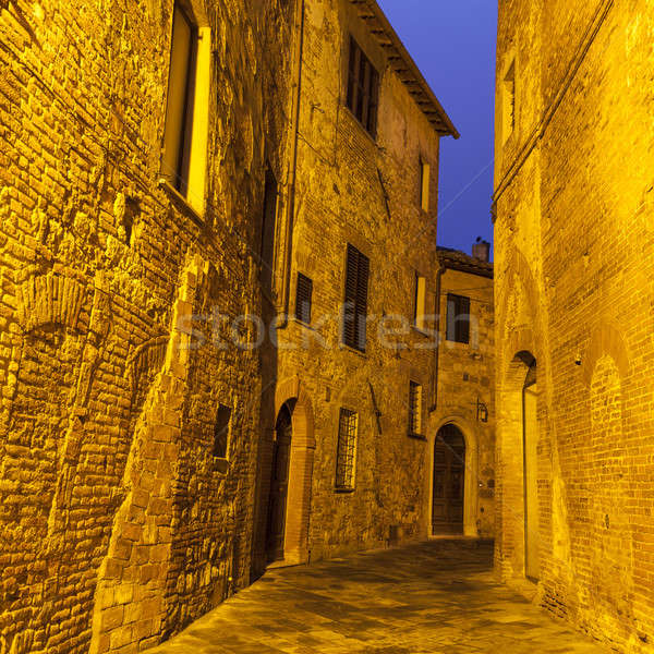 Montepulciano - old town Stock photo © benkrut