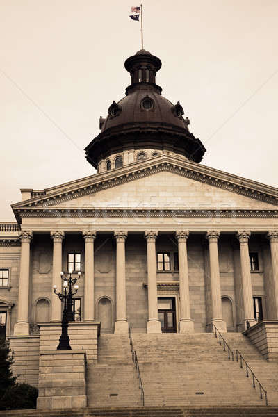 Columbia, South Carolina - State Capitol Stock photo © benkrut